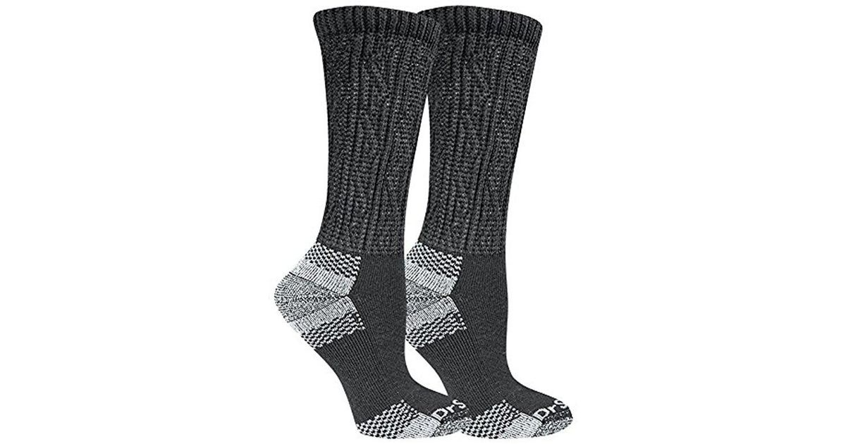 d00622837b5 Lyst - Dr. Scholls Plus Size Advanced Relief 2-pair Wide Top Crew-extended  Socks in Black for Men