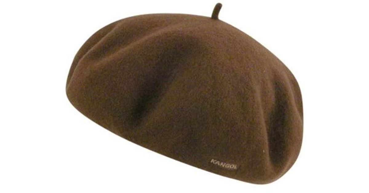 2f321359 Kangol Anglobasque Beret in Brown for Men - Lyst