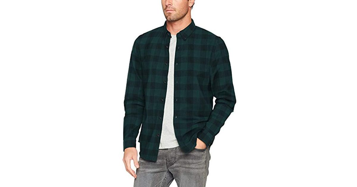 28a4a20edf Timberland Shirt Ls Back Rv Herrgb Pl in Green for Men - Lyst