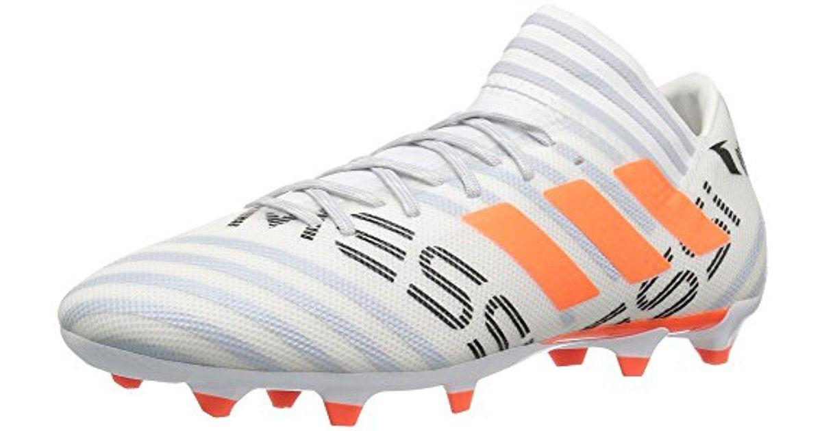 Nemeziz Lyst Adidas Messi FG Soccer zapatos , Core Negro / solar