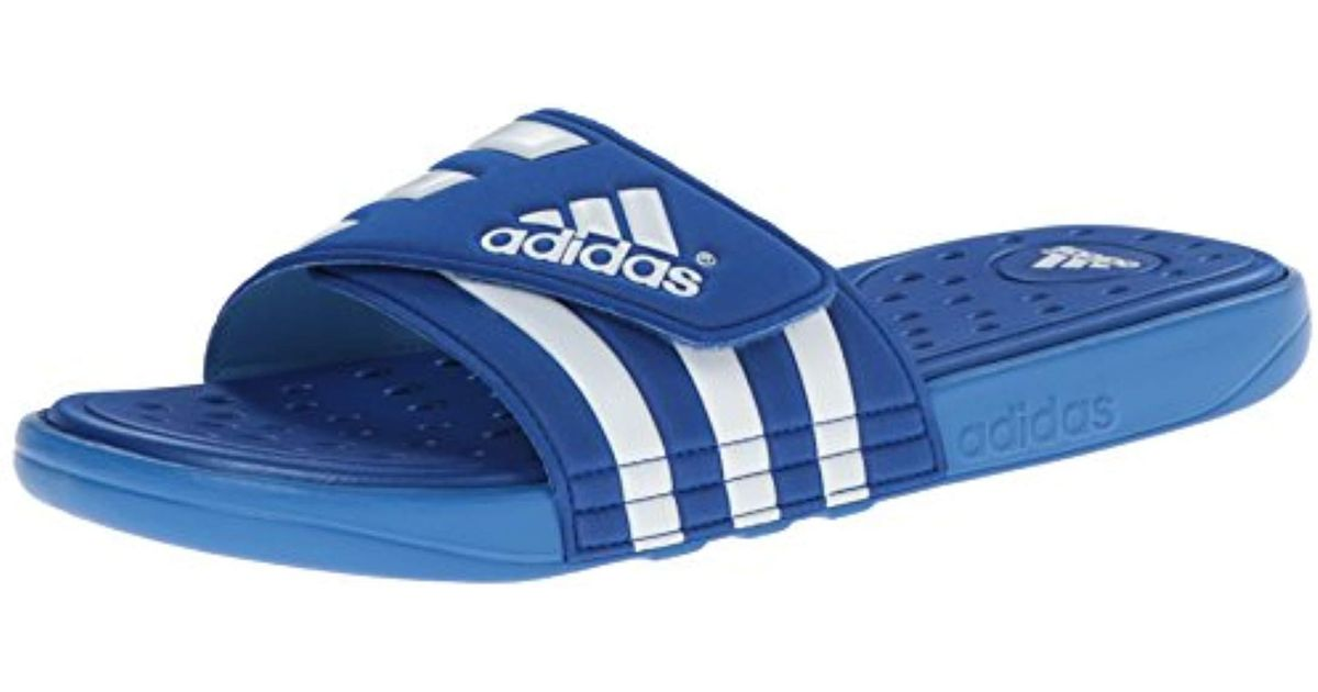 new style 2e710 2c465 adidas Adissage Sc Slide Sandal in Blue for Men - Lyst