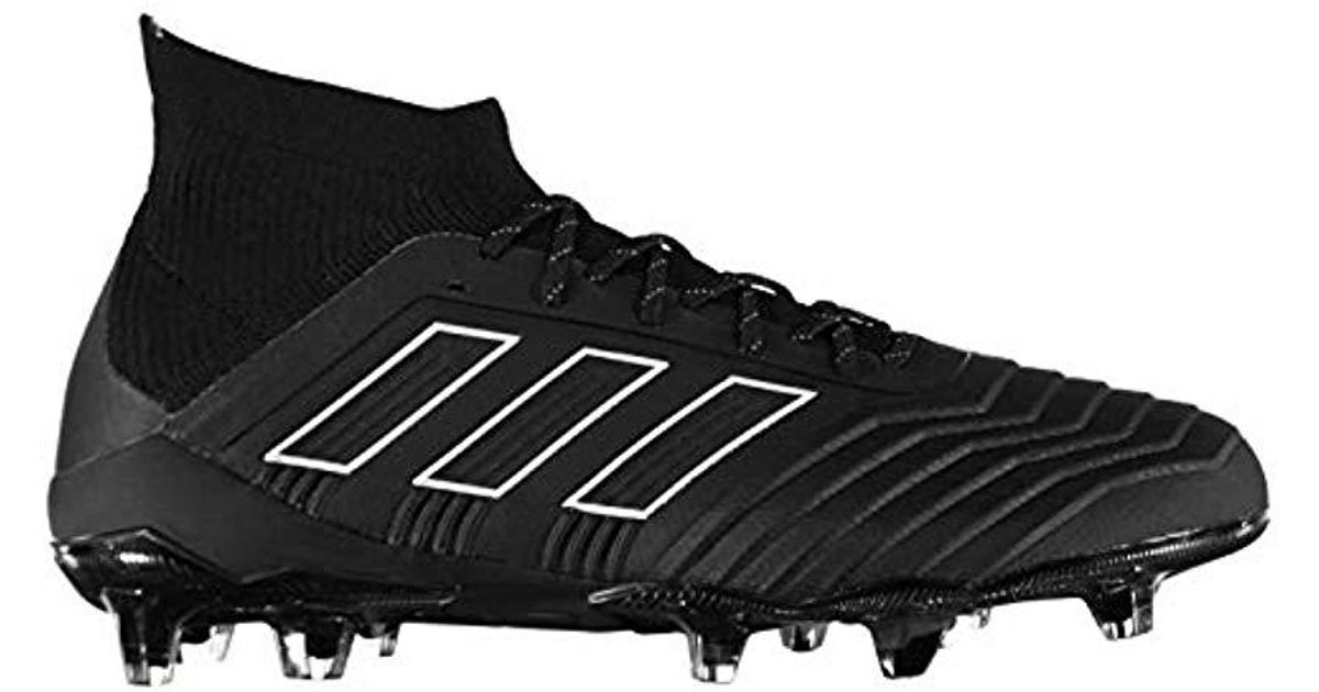 official photos f7b47 2c000 Adidas   s Predator 18.1 Fg Football Boots in Black for Men - Lyst