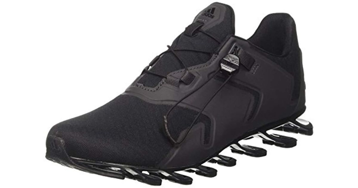 online retailer 9e09d faafb cheap adidas springblade solyce m s running shoes in black for men lyst  1d8c1 d8c58