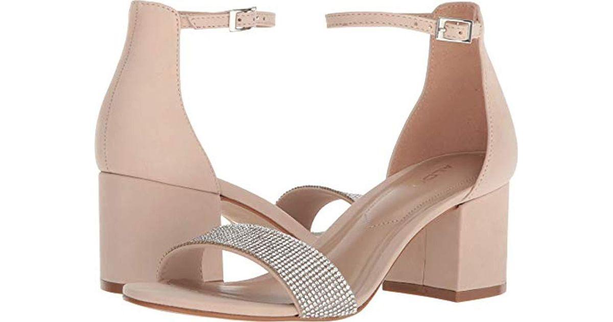 ad97466b7859 Lyst - ALDO Gladoniel Heeled Sandal - Save 15%