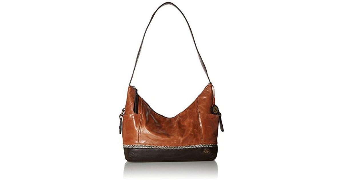 bd79b0426964 Lyst - The Sak Kendra Hobo Shoulder Bag in Brown