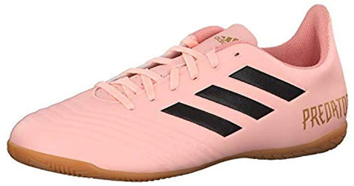 adidas Predator Tango 18.4 In Futsal Shoes in Pink for Men - Lyst 76ecee764546e