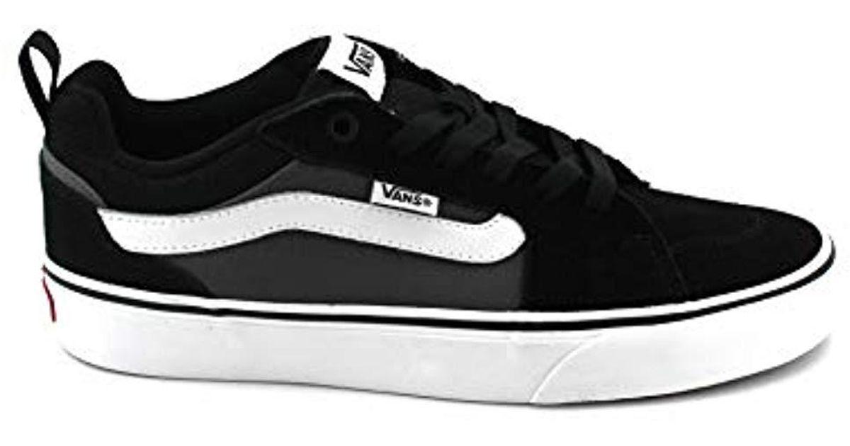 2f28cb37d Vans Filmore Suede canvas Low-top Sneakers in Black for Men - Lyst