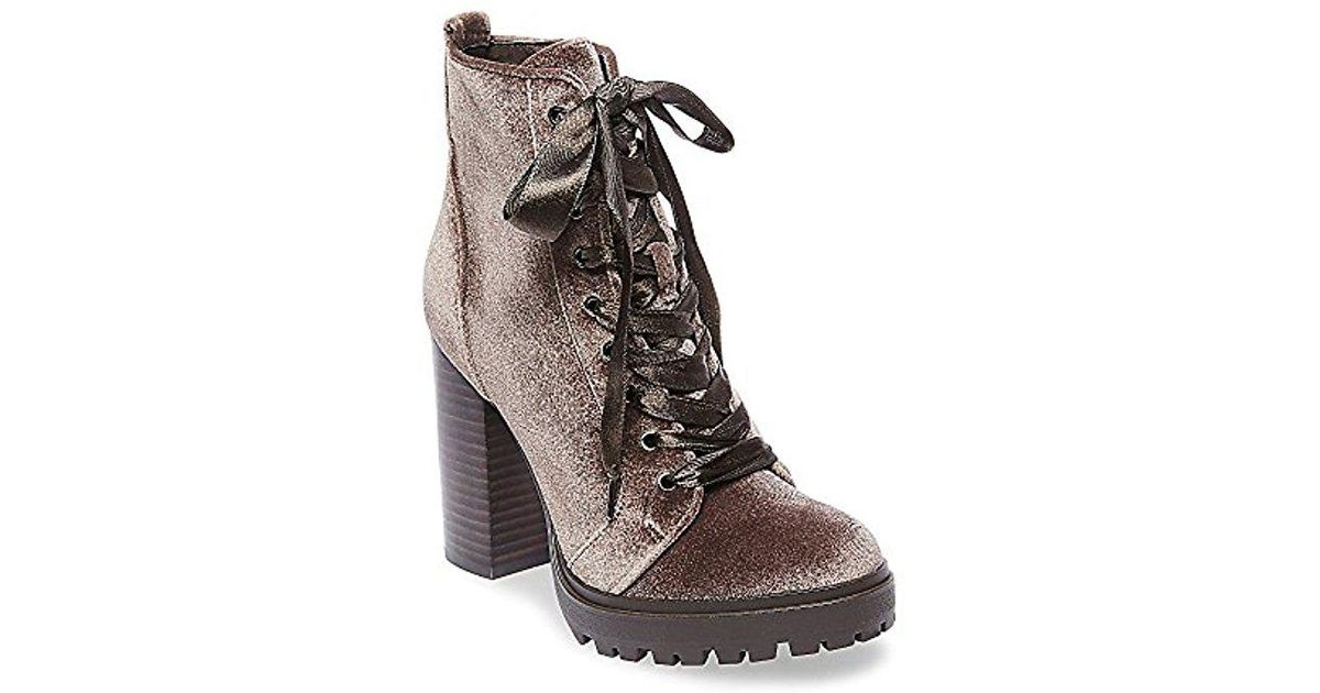 c1696d39dd2 Lyst - Steve Madden Laurie Combat Boot in Brown