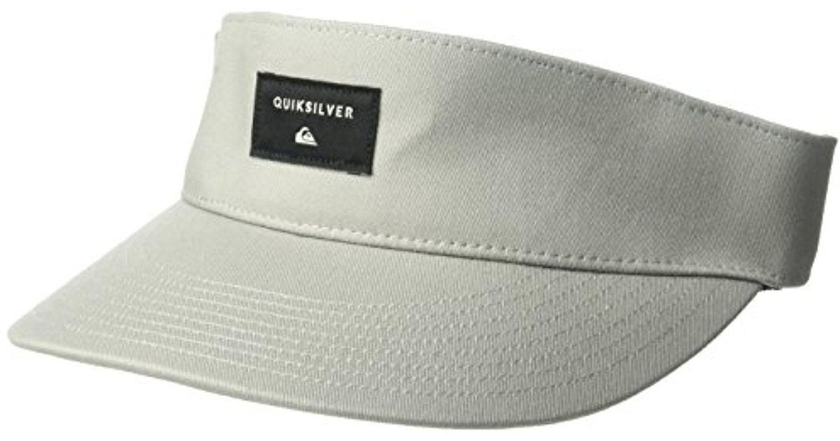 Lyst - Quiksilver Big Bradley Visor Hat for Men e4b280d8a13