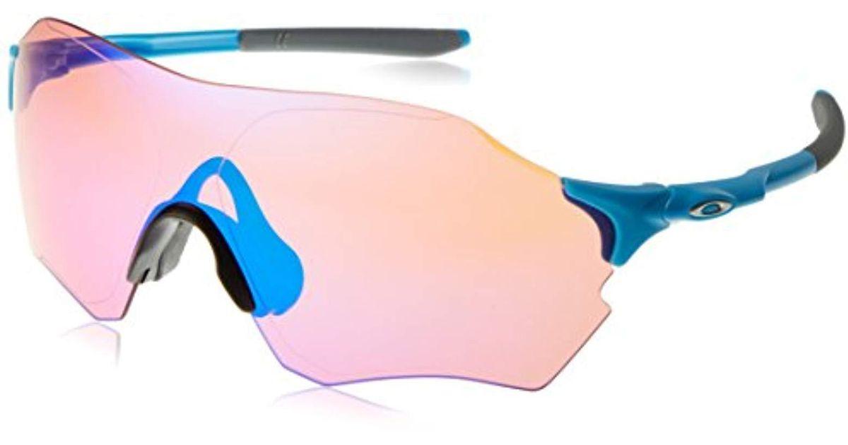 Range Men Sunglasses O Oakley Blue Prizmtm Matter® Frame 2017 Performance For Evzerotm AR53jL4
