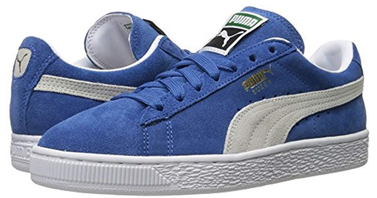20accc23843 Lyst - PUMA Unisex Adults  Suede Classic + Sneakers Blue in Blue for Men