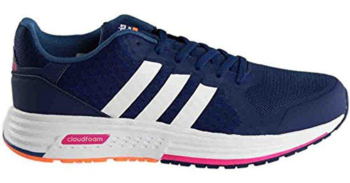 2488a58bf Lyst - adidas Neo Cloudfoam Flyer W Running Shoe in Blue for Men