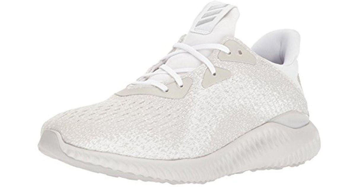lyst adidas alphabounce em m scarpa da corsa in bianco.