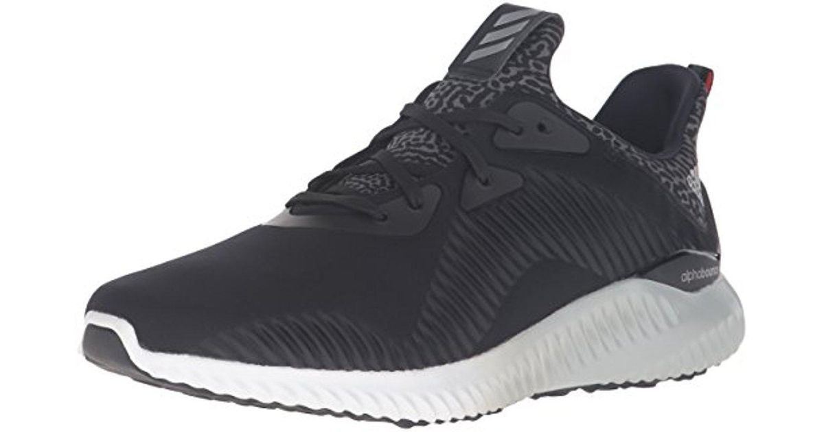 8a46538330f96 Lyst - adidas Performance Alphabounce W Running Shoe in Black