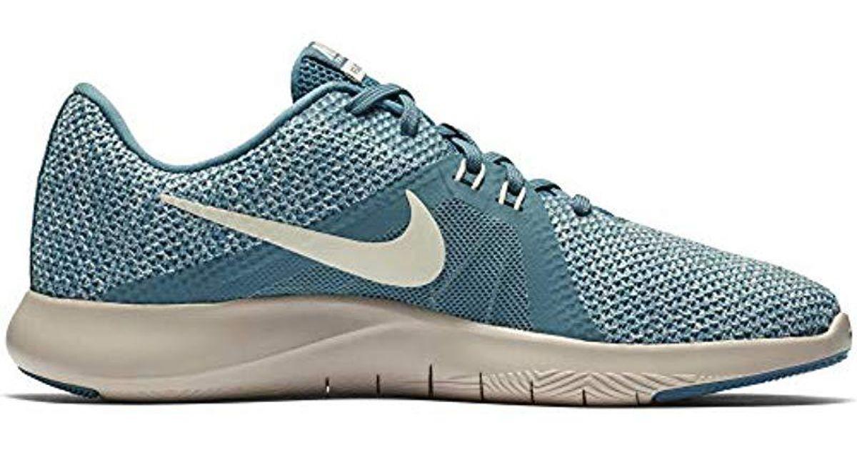 37c89f9df679 Lyst - Nike Flex Trainer 8 Cross in Blue