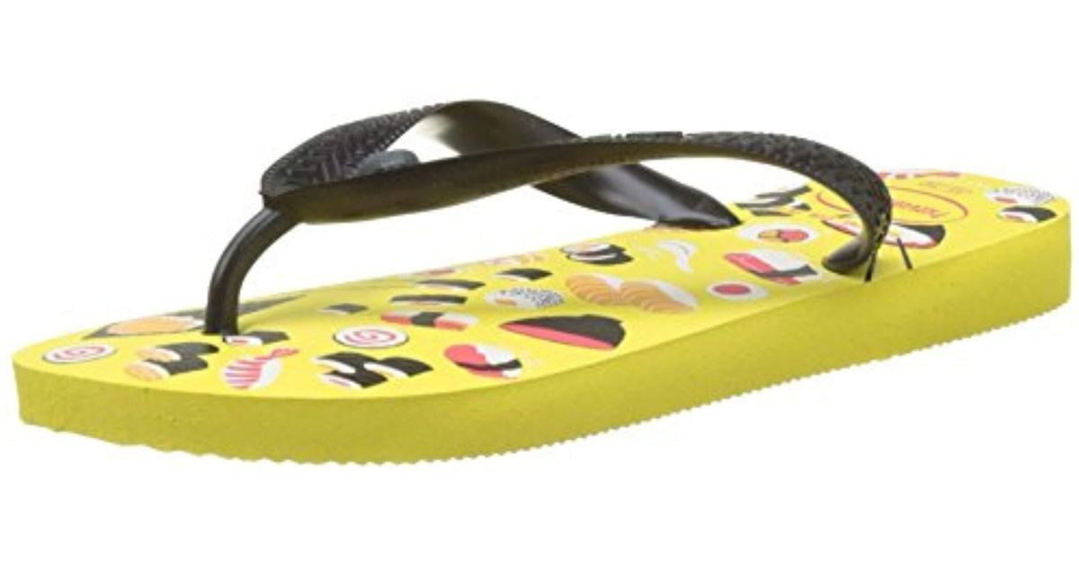 38ed81b43fb Havaianas Honey Flip Flops in Yellow - Save 35% - Lyst