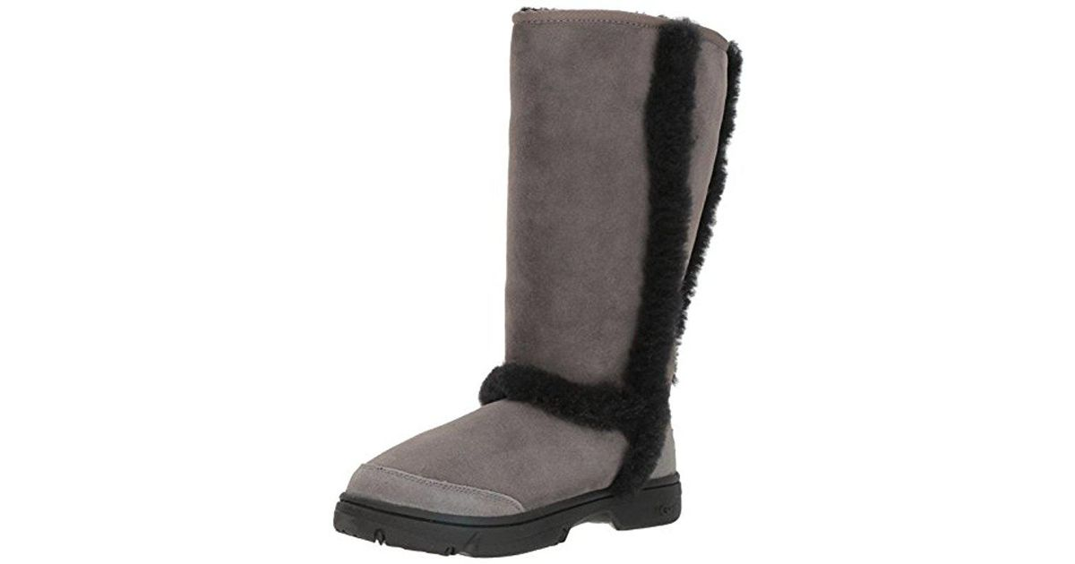 782f6f4fc56 Ugg Black Sunburst Tall Fashion Boot