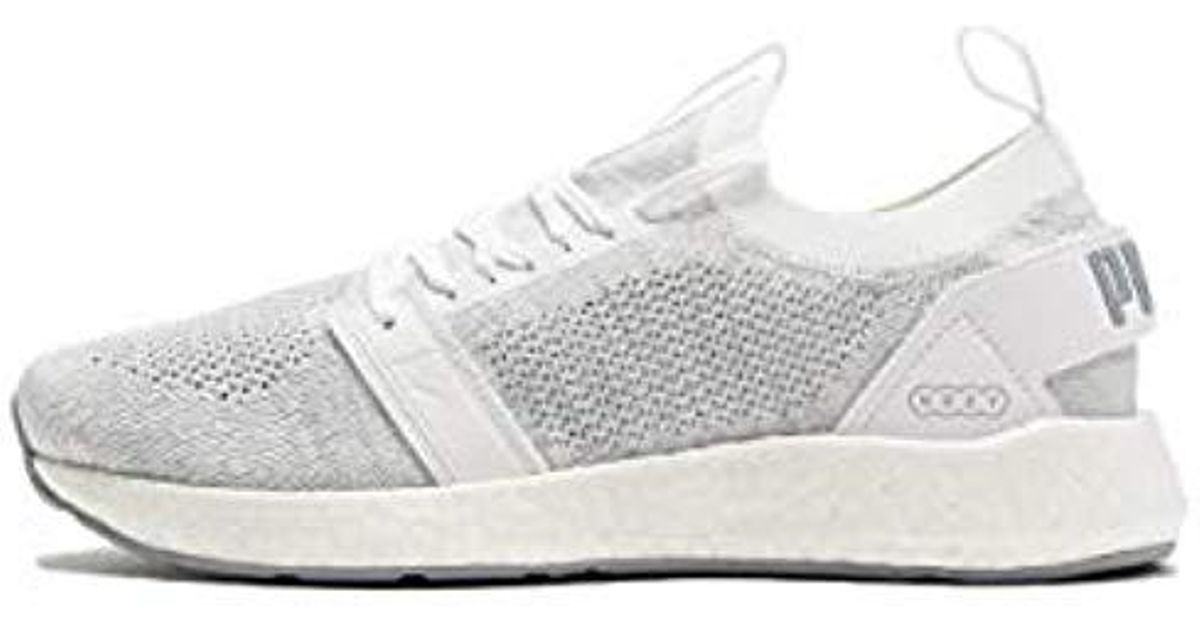 9c8eb97381764f PUMA Nrgy Neko Engineer Knit Wns Competition Running Shoes in White - Save  16% - Lyst