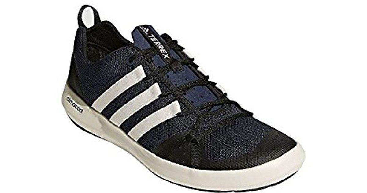 6d50e3d943133 Lyst - adidas Originals Terrex Cc Boat Walking Shoe in Blue for Men