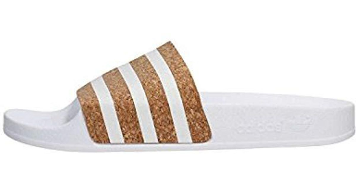 detailed look e166b b23db adidas Adilette W Water Shoes in White - Lyst