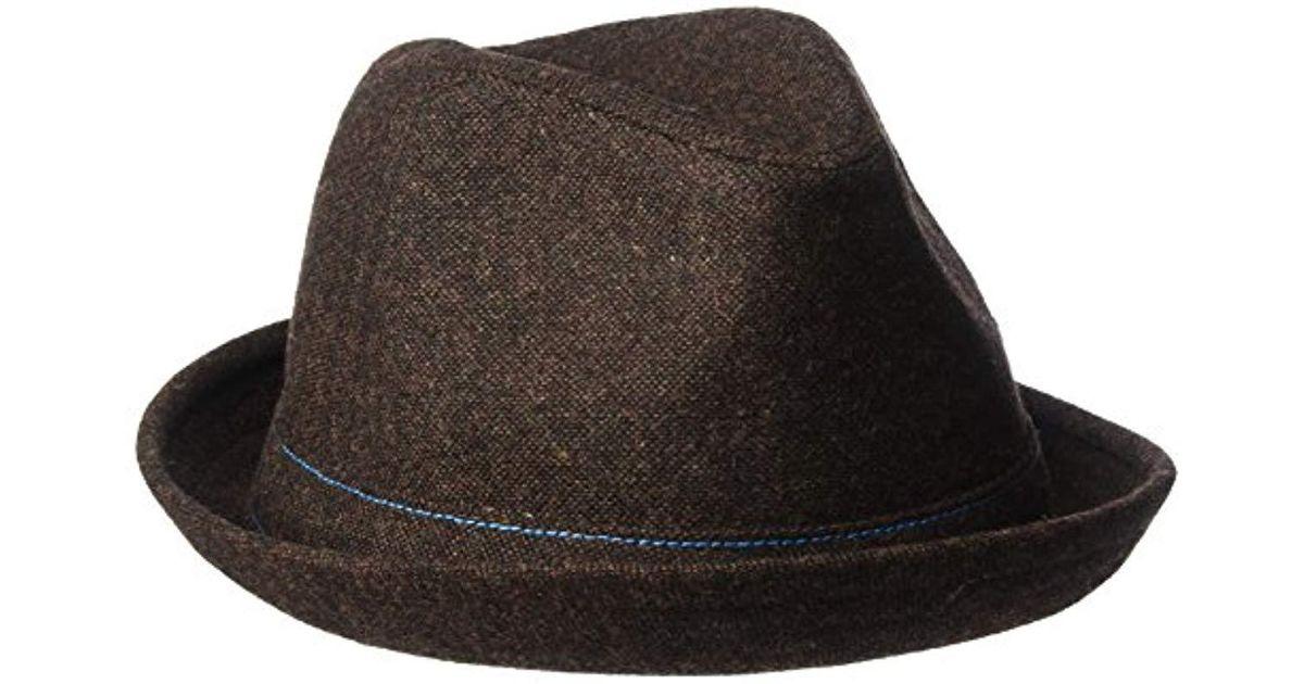 5bfc822329443 Lyst - Goorin Bros The Barber Wool Blend Fedora Hat in Brown for Men