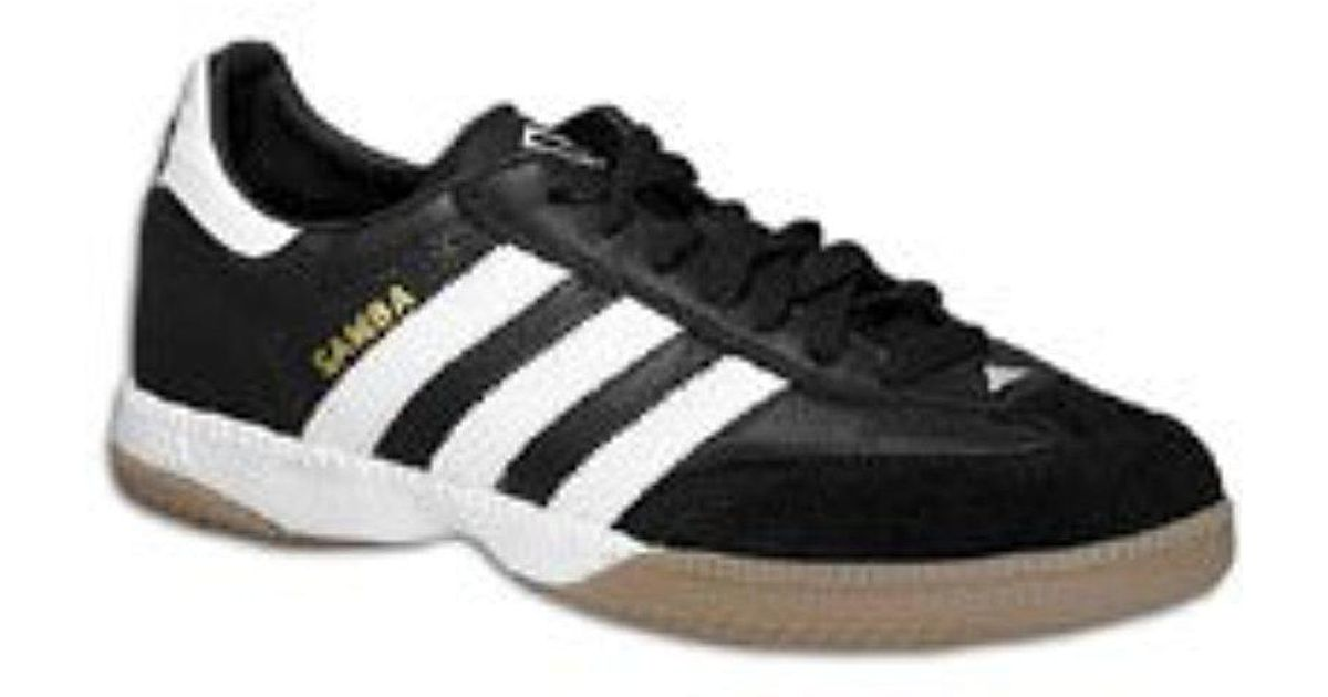 1eb8329fda8 adidas Performance Samba Millennium Indoor Soccer Shoe in Black for Men -  Lyst