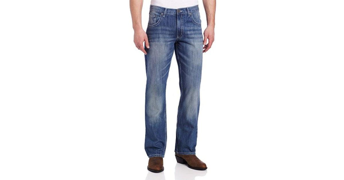 bf06b83b Lyst - Wrangler Tall 20x Collection Vintage Bootcut Jean in Blue for Men -  Save 4%