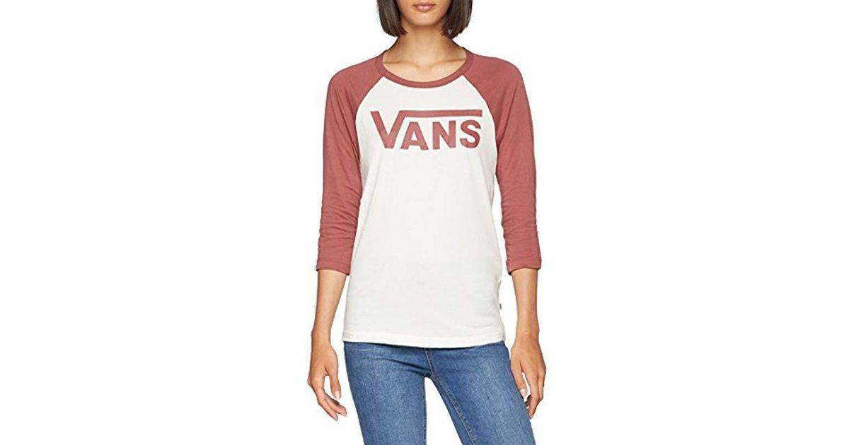 99f56ccd85c77d Vans Flying V Raglan T-shirt - Lyst