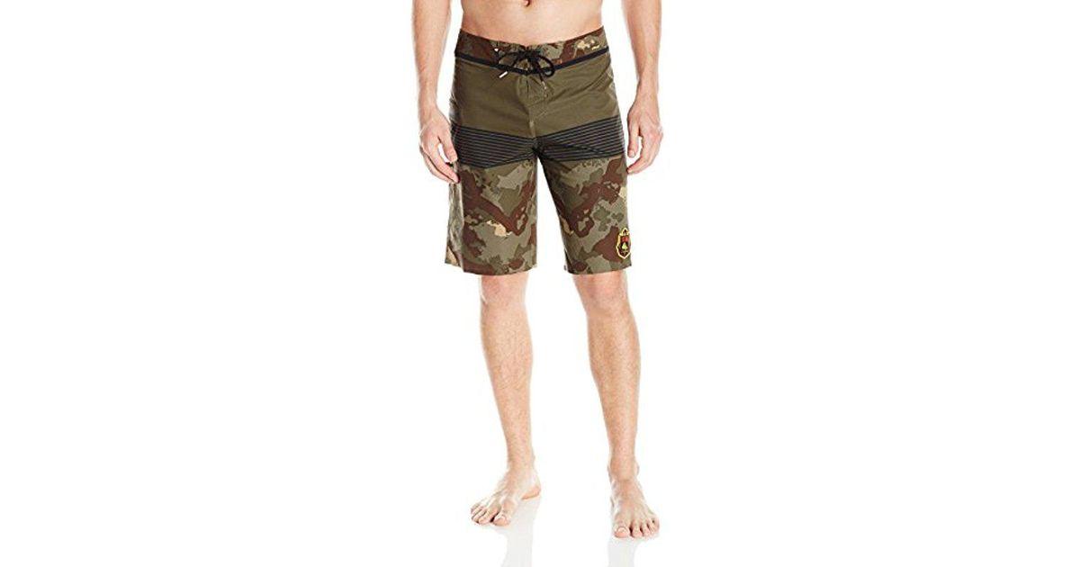 d2601b6db4 Lyst - Quiksilver Division Eddie Vee 21 Inch Boardshort for Men