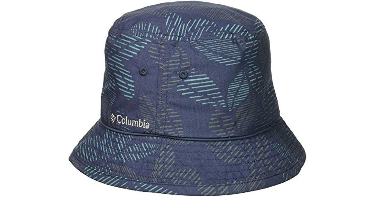 5266d41d5496d Lyst - Columbia Pine Mountain Bucket Hat in Blue