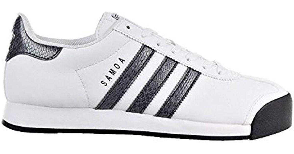 7a6c23d09bea Lyst - adidas Originals Samoa Retro Sneaker in White for Men