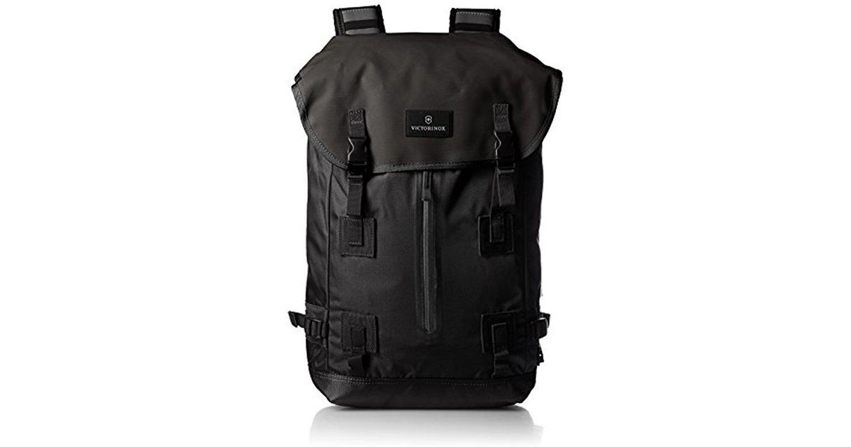 185b8c422d Lyst - Victorinox Luggage Altmont 3.0 Flapover Drawstring Laptop Backpack  in Black for Men