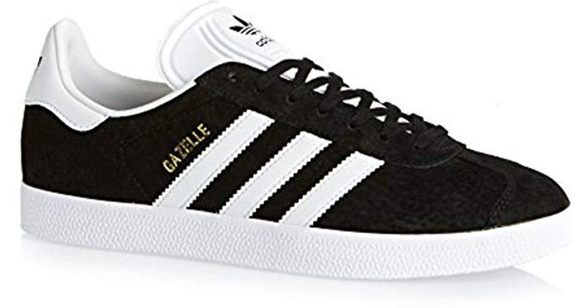 Lyst - Adidas Unisex Adults  Gazelle Trainers in Black for Men 7ff25afa8