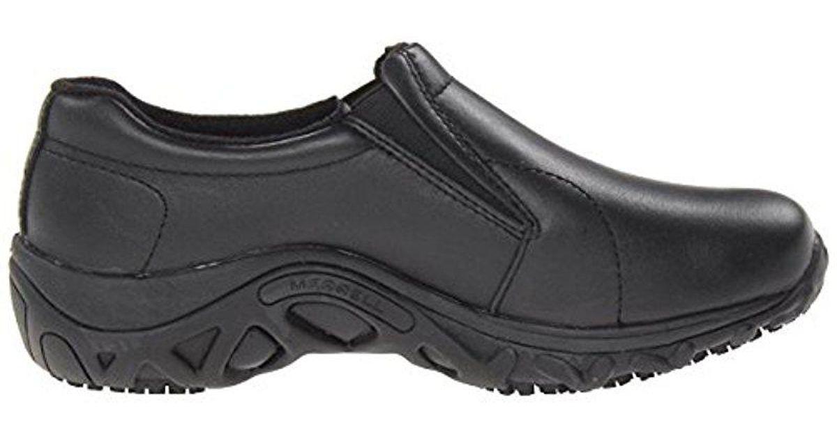 a29d59ef6b0b Lyst - Merrell Jungle Moc Pro Grip Slip-resistant Work Shoe in Black for Men