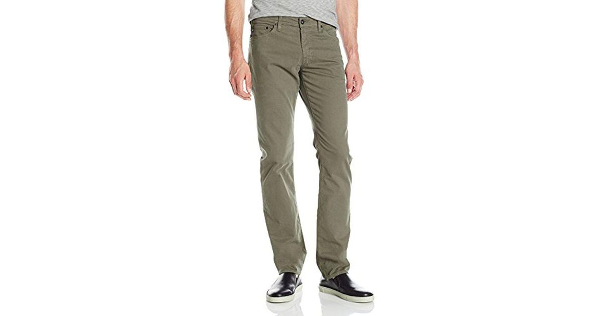 3b43a307 AG Jeans The Graduate Tailored 'sud' Pant in Green for Men - Lyst