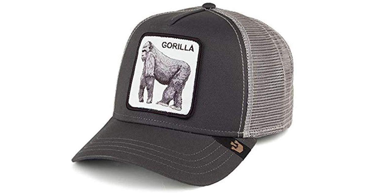 Lyst - Goorin Bros King Of The Jungle Trucker Hat in Black for Men - Save  14% a05be621e51