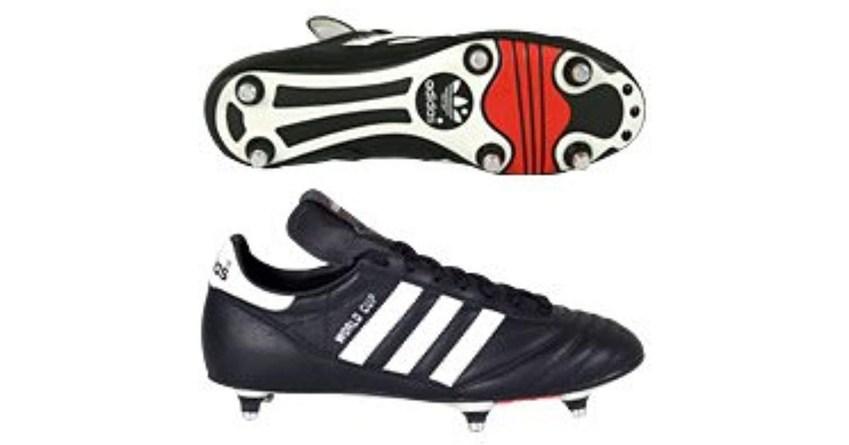 adidas World Cup Football Boots in Black for Men - Lyst 89c97cdeb