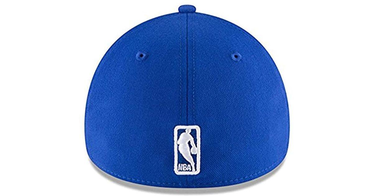 9b191bcdd5b Lyst - KTZ Nba Classic 39thirty Stretch Fit Cap in Blue for Men