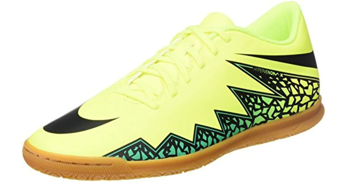 watch b6b1a f11ee Nike - Green Hypervenom Phade Ii Football Boots White for Men - Lyst