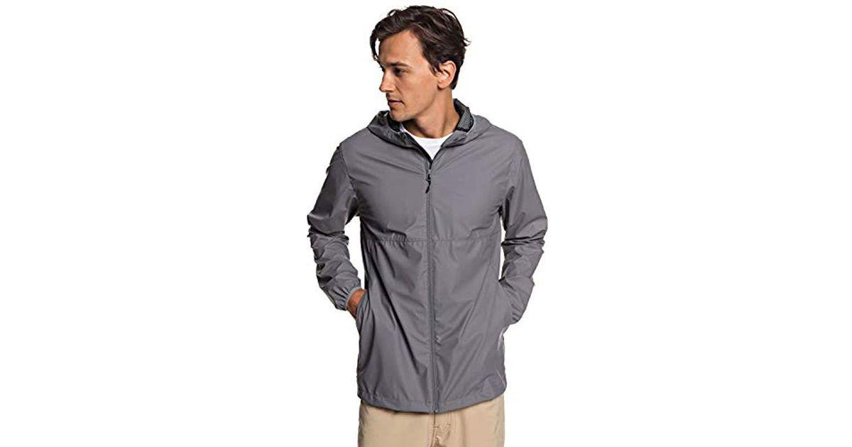 8f46695aae Quiksilver Kamakura Rains Jacket in Gray for Men - Save 4% - Lyst