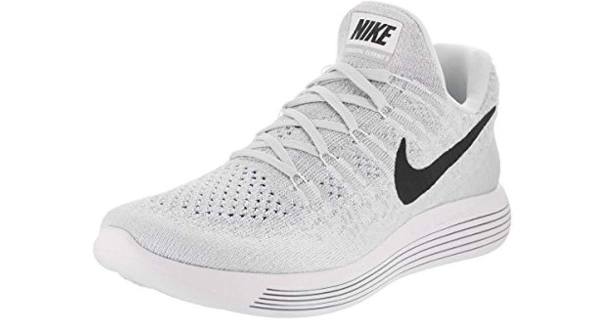 brand new b452e cbfa0 Nike - White Lunarepic Low Flyknit 2 Training Shoes - Lyst