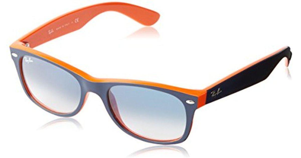 18c7b927b4 Lyst - Ray-Ban Unisex 0rb 2132 New Wayfarer Sunglasses in Blue for Men