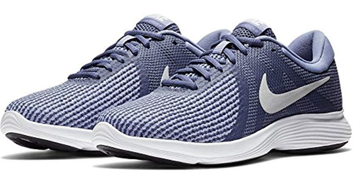 a330c1cbb3899 Lyst - Nike Wmns Revolution 4 Running Shoe in Blue