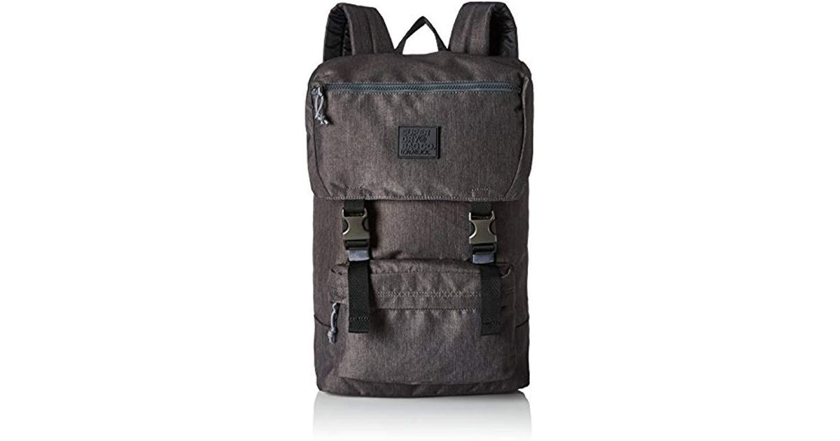 2adc5cb139ad Superdry Dc Hyper Backpack in Gray for Men - Lyst