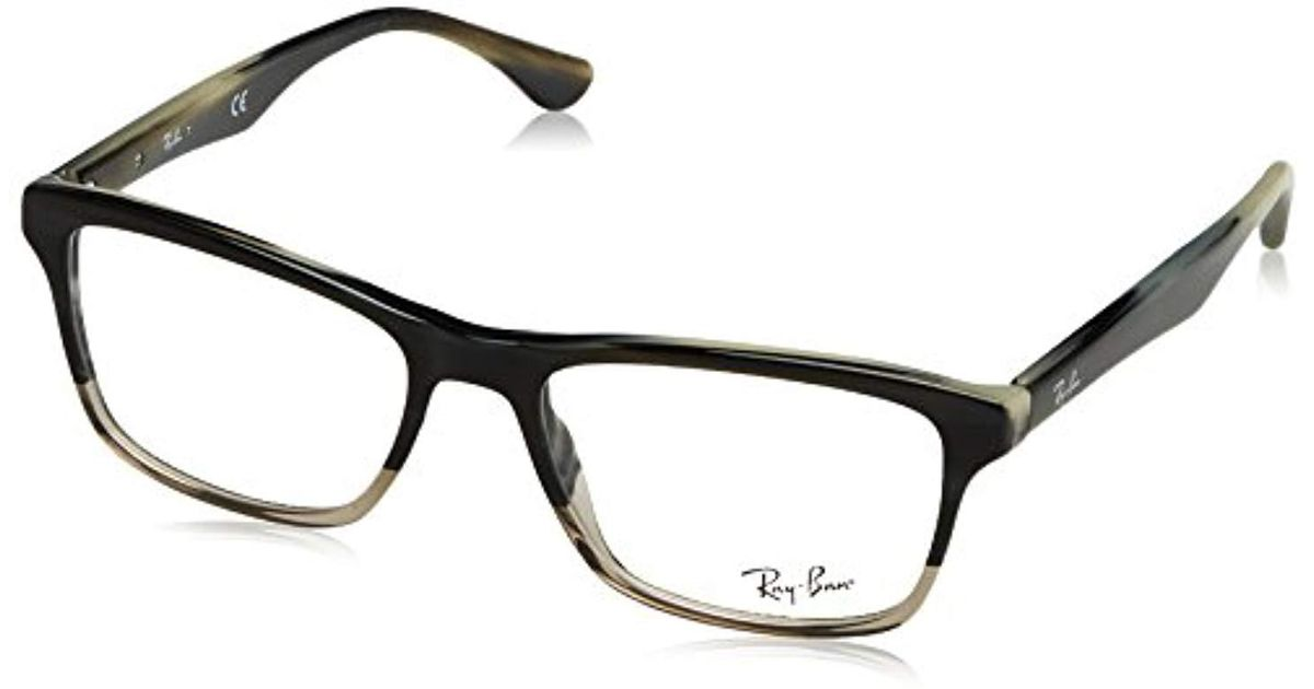 ea5ff77ce7 Ray-Ban Rx5279 Glasses In Shiny Black Rx5279 2000 53 in Black for Men - Lyst