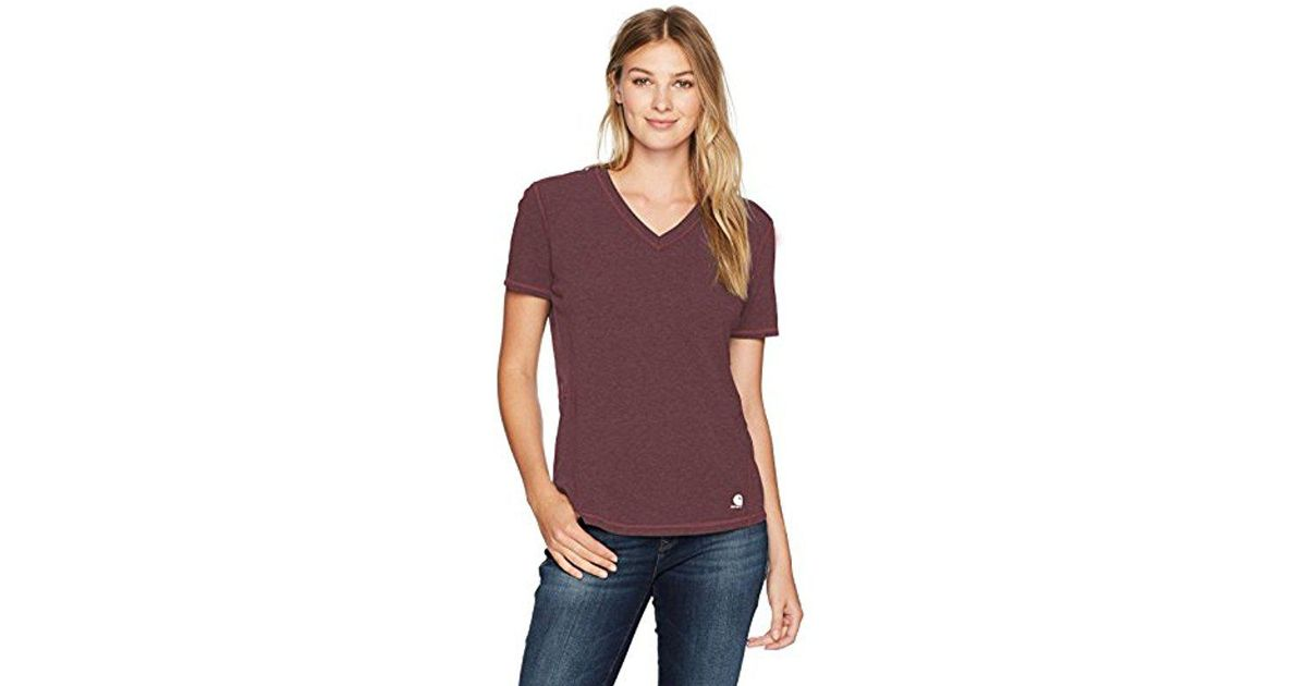 Shirt Force Carhartt Ferndale Short Sleeve Lyst Purple T KlFJc1