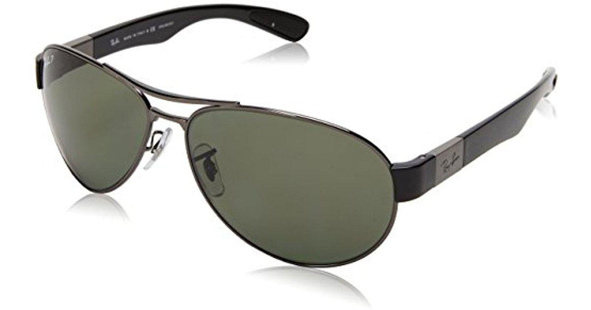 efe7576451 Lyst - Ray-Ban Rb3509 - Gunmetal Frame Polar Green Lenses 63mm Polarized in  Green for Men