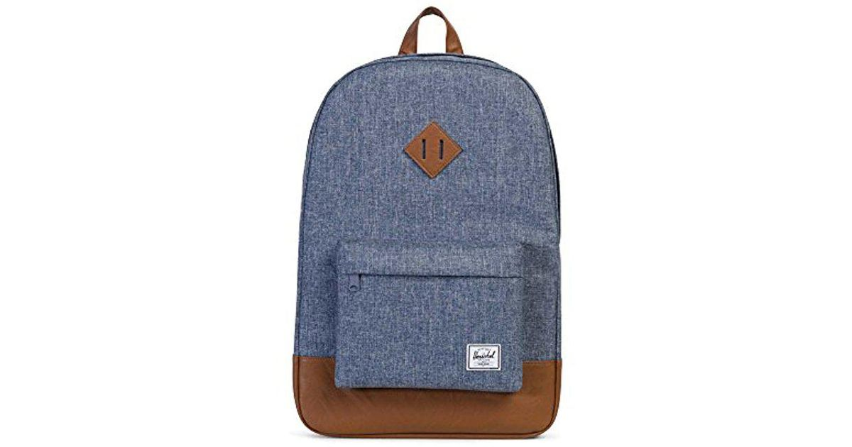 2fbe2c203d4 Lyst - Herschel Supply Co. Heritage Backpack in Blue