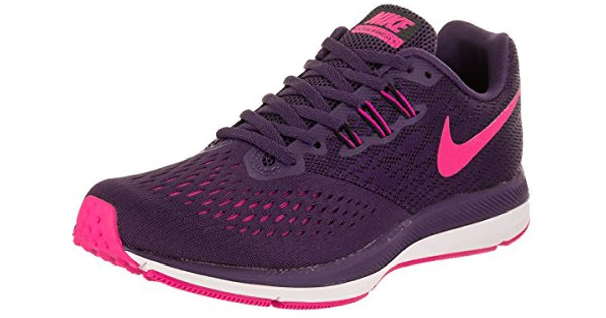 Nike   s Zoom Winflo 4 Competition Running Shoes in Blue - Lyst 59b0c5170