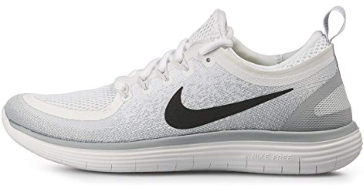 hot sales 21610 277d7 Nike - White ''s Free Rn Distance 2 Competition Running Shoes for Men - Lyst